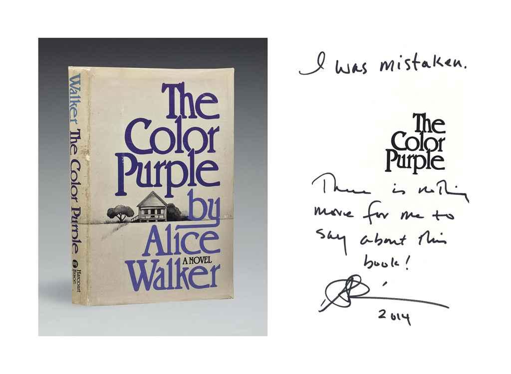 WALKER, Alice (b. 1944). The C