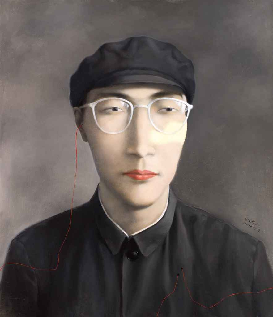 xiaogang zhang The rapid growth of consumerism in china during the 1990s caused zhang  xiaogang to begin his series of paintings 'bloodline: the big family' in this series .