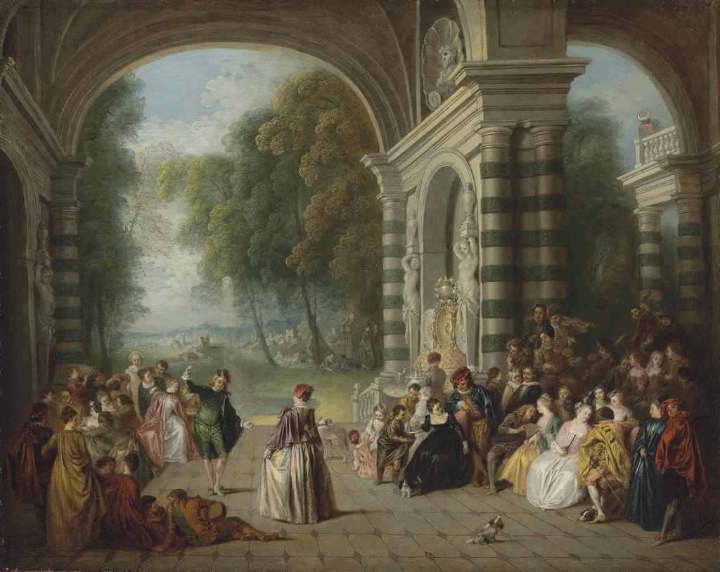 Jean-Baptiste Pater (Valenciennes 1695-1736 Paris), after An...