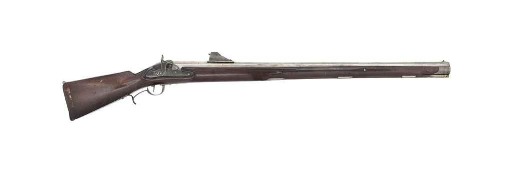 A SUBSTANTIAL 21mm PERCUSSION RAMPART GUN