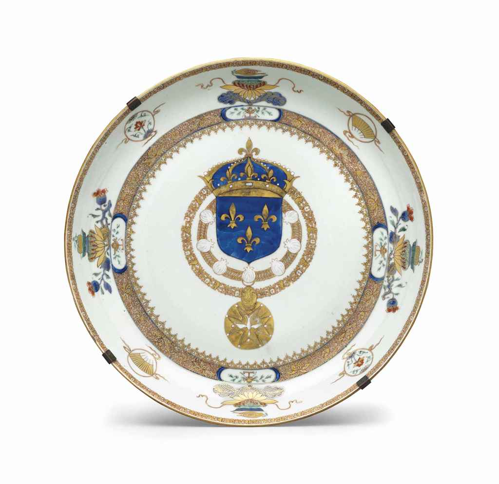 A LARGE FRENCH ROYAL ARMORIAL