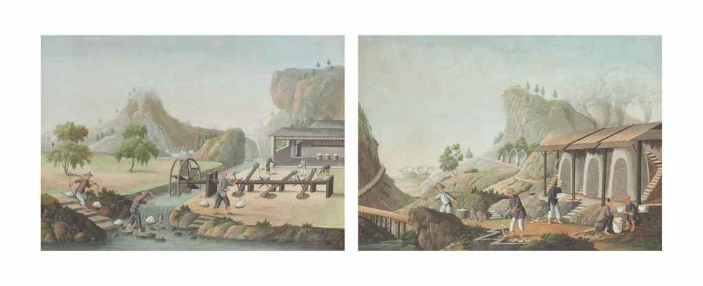 CHINESE SCHOOL, CIRCA 1800
