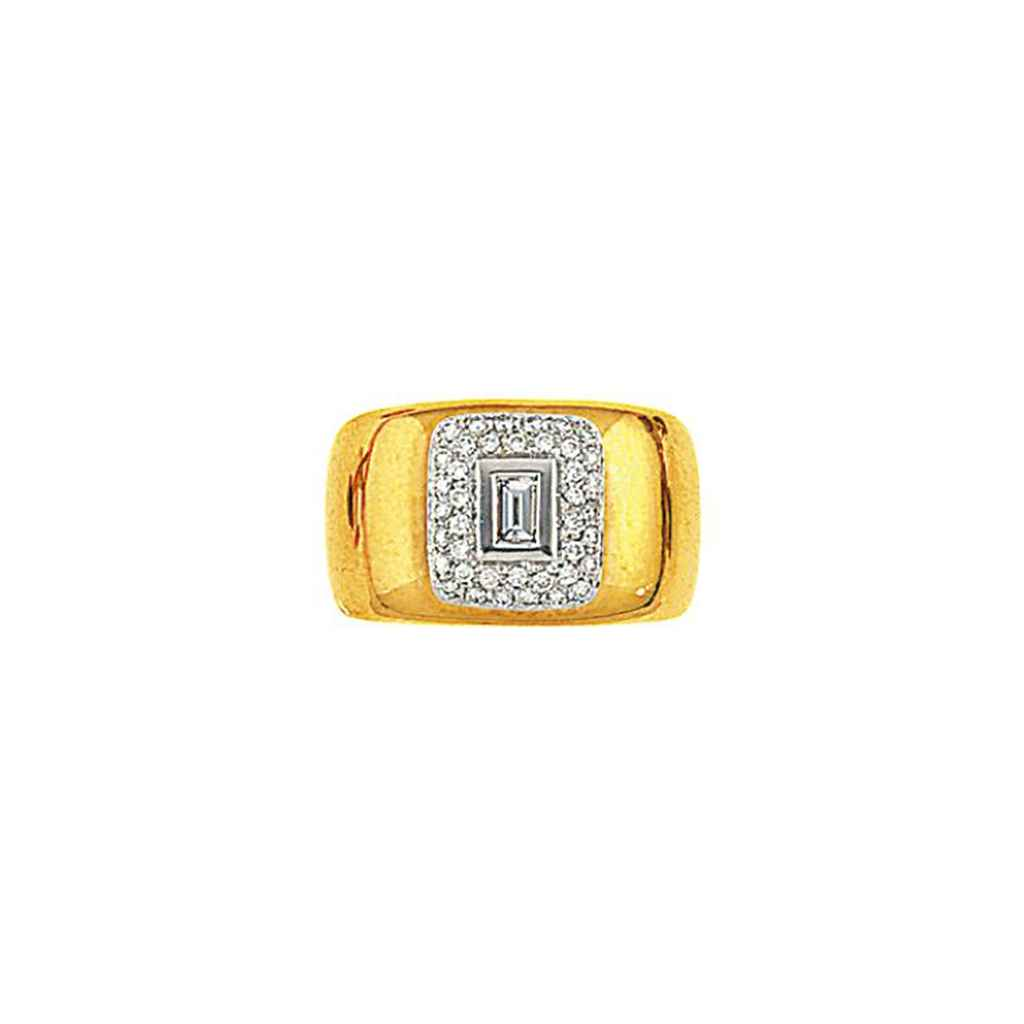 A diamond ring, by Artur Scholl