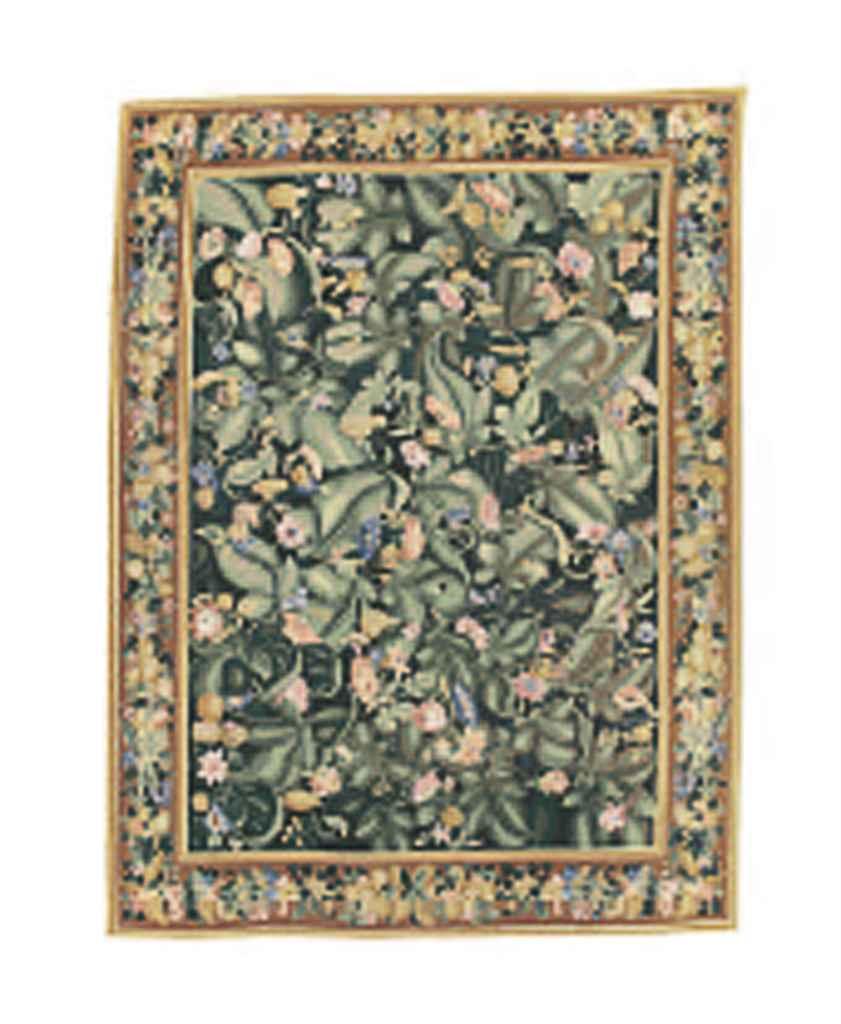 A fine needlework carpet of Eu