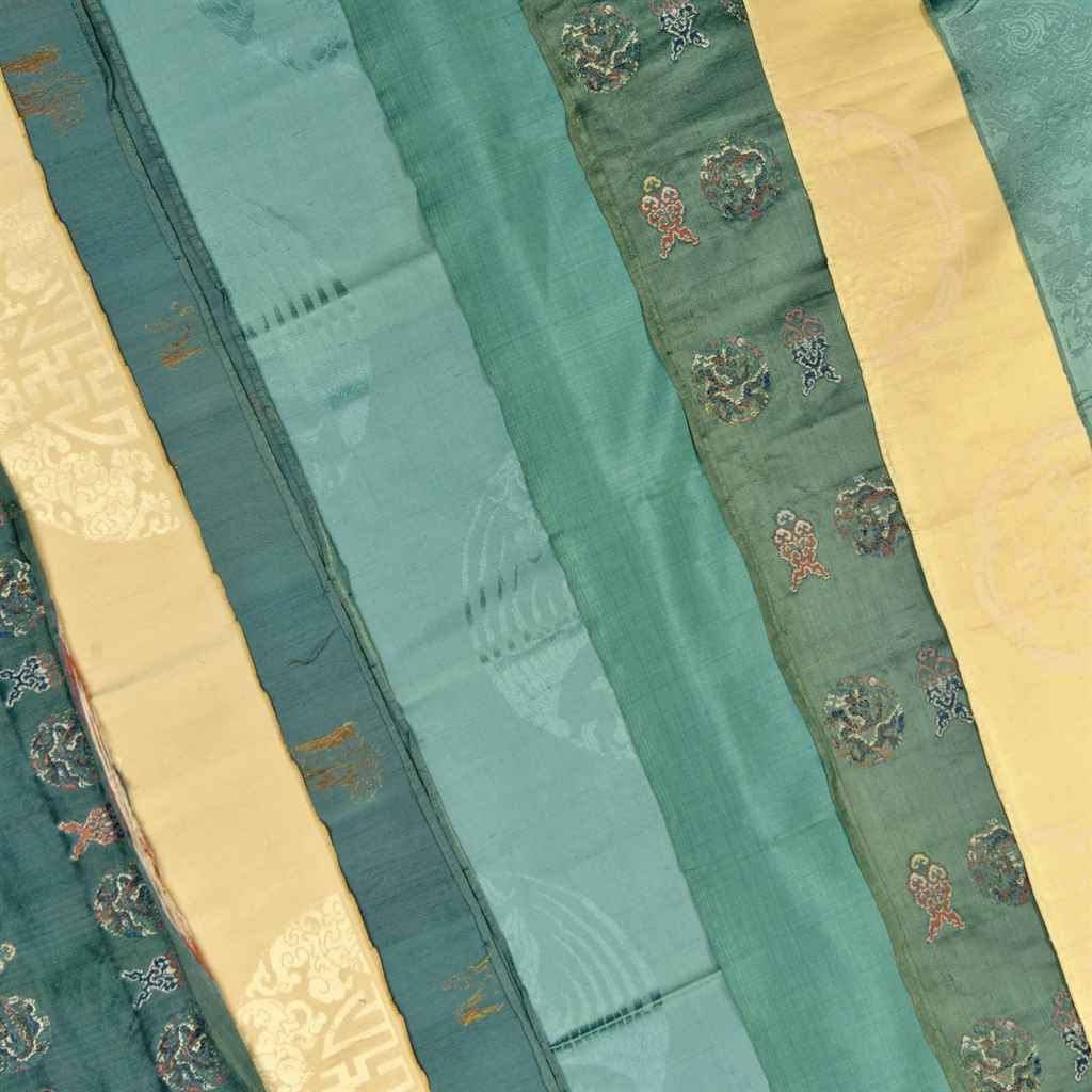 A COLLECTION OF CHINESE SILKS