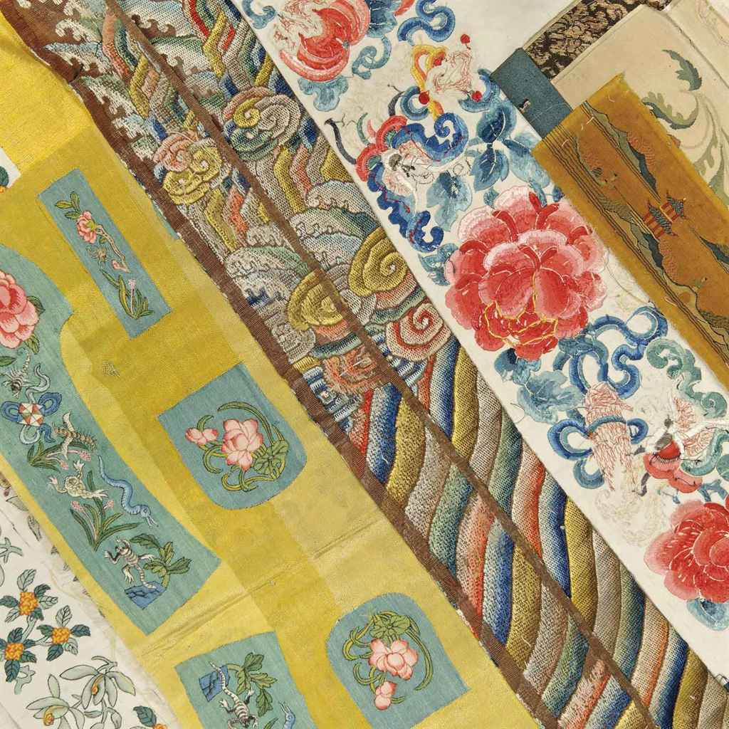 A GROUP OF CHINESE TEXTILES
