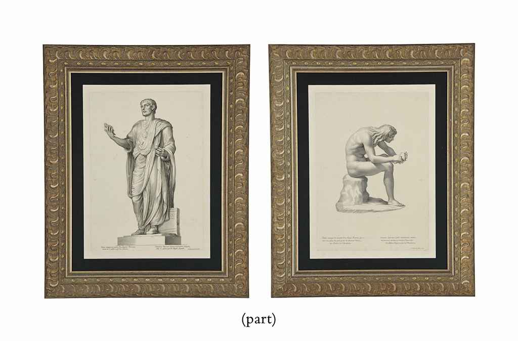 NINE ENGRAVINGS OF CLASSICAL S