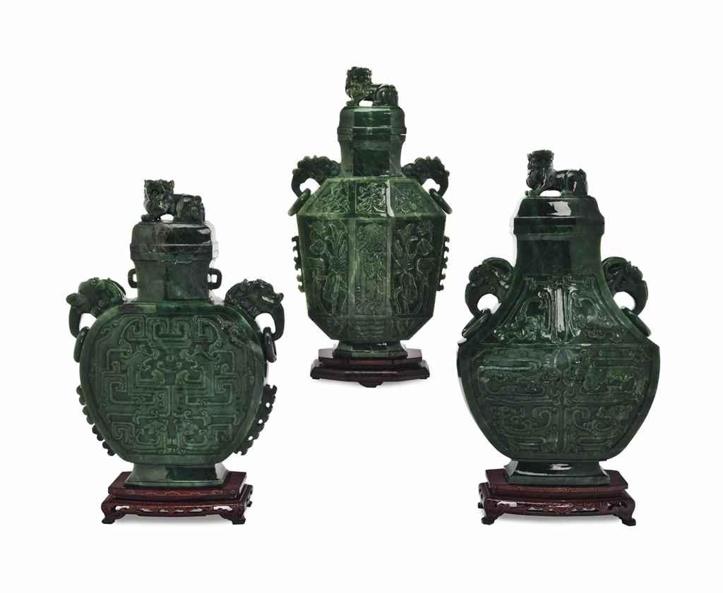 THREE CHINESE SPINACH GREEN JA