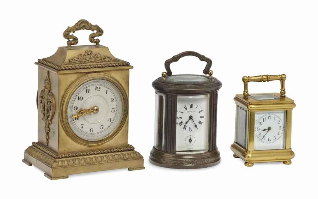 THREE FRENCH MINIATURE TIMEPIE