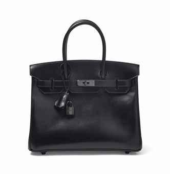 hermes sac birkin boxe noire