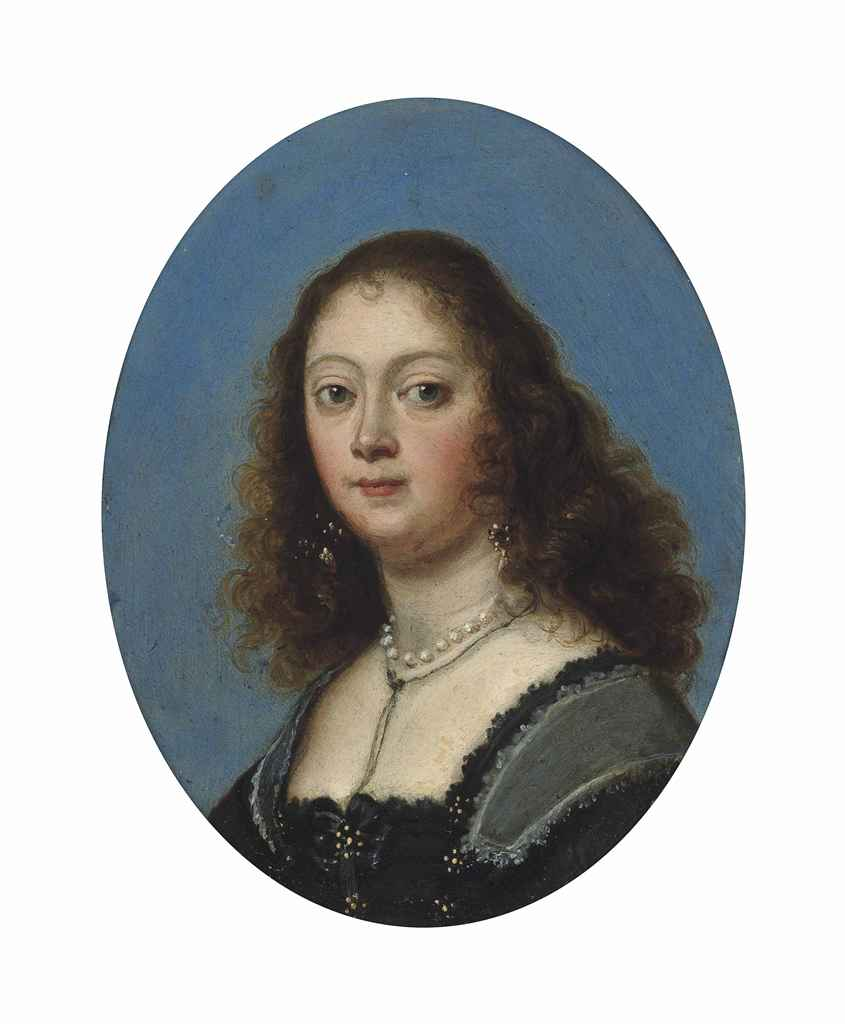 Attributed to Gonzales Coques (Antwerp 1614/18-1684)