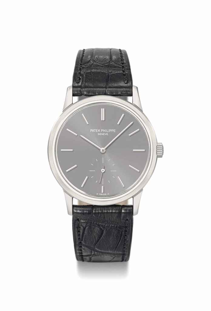 Patek Philippe A rare stainless steel special edition wristw...