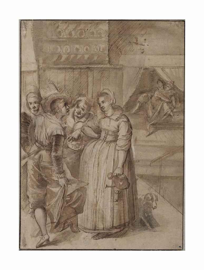 Attributed to Frans Francken II (Antwerp 1581-1642)
