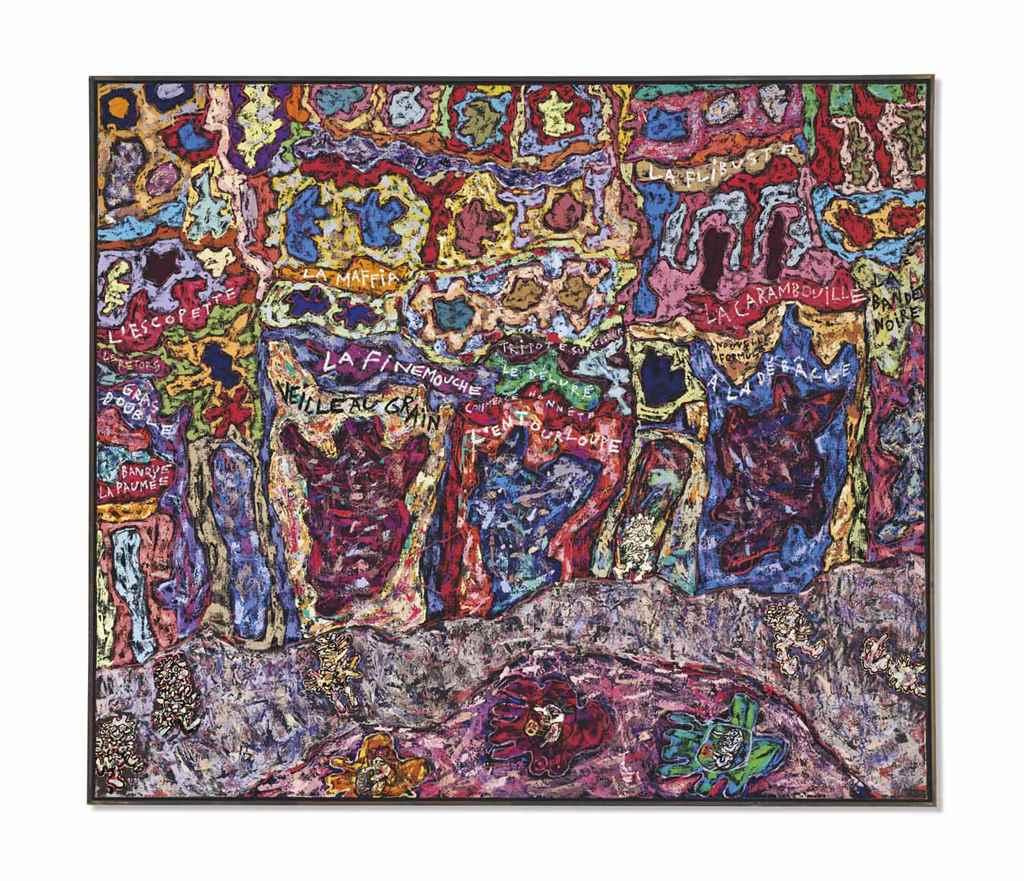 Resultado de imagen para Jean Dubuffet (1901-1985)
