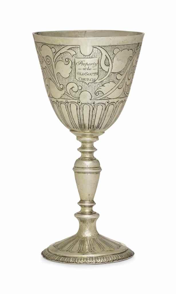 A JAMES I SILVER-GILT WINE CUP
