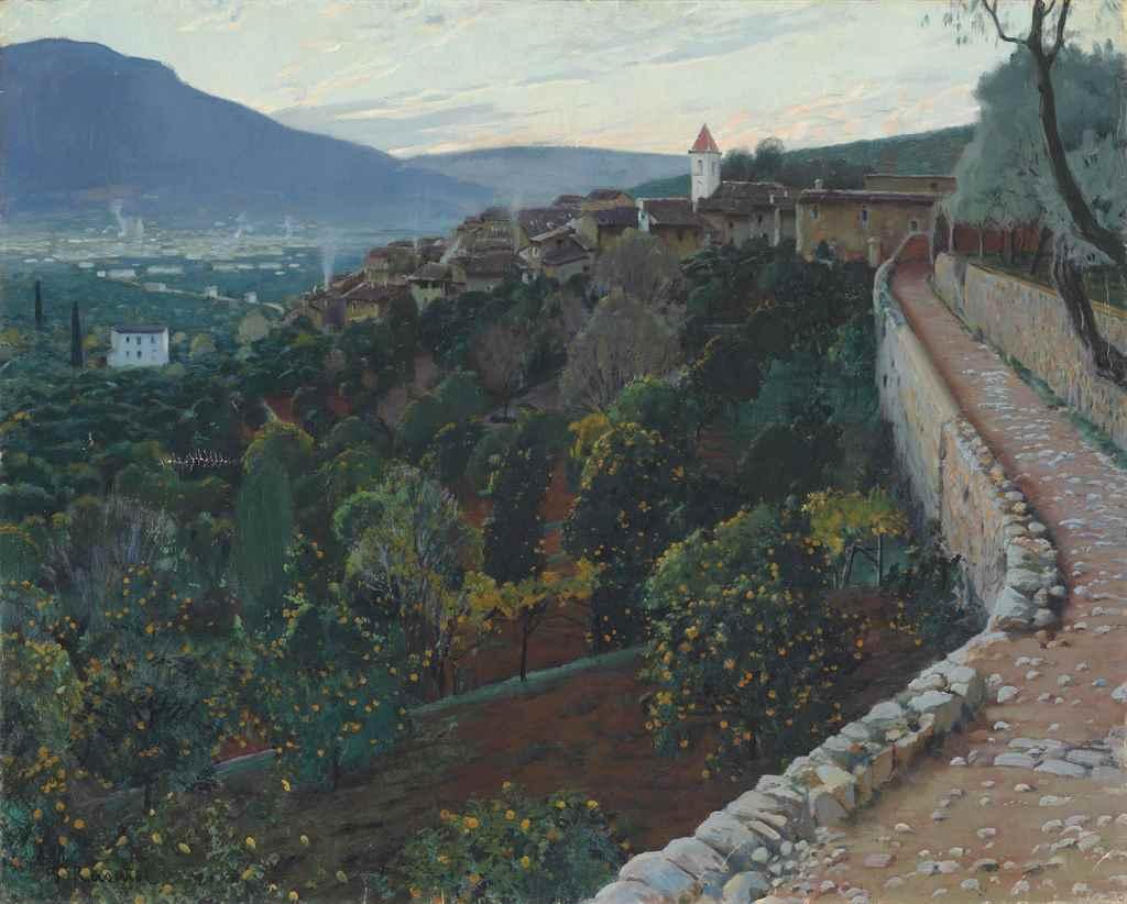 Santiago Rusiñol y Prats (Spanish, 1861-1931)