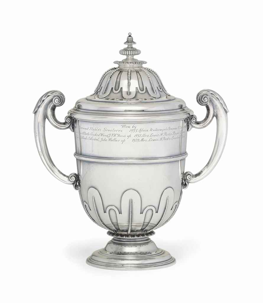 A GEORGE V SILVER TROPHY CUP A