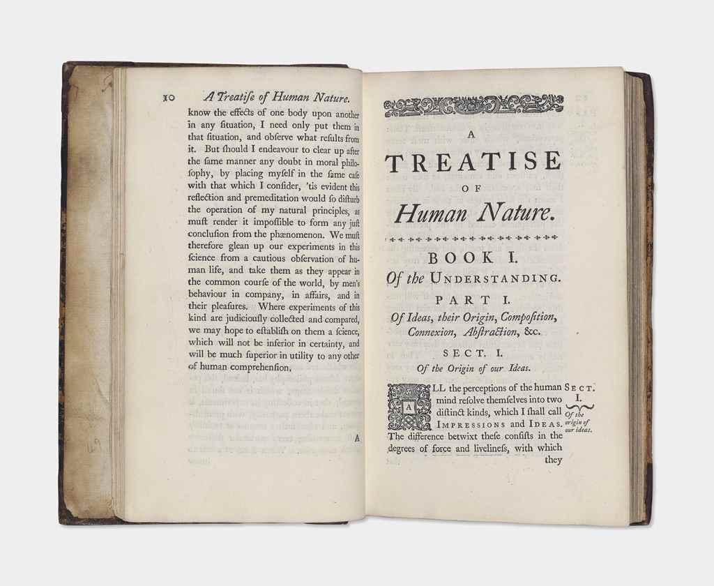 HUME, David (1711-1776). A Tre