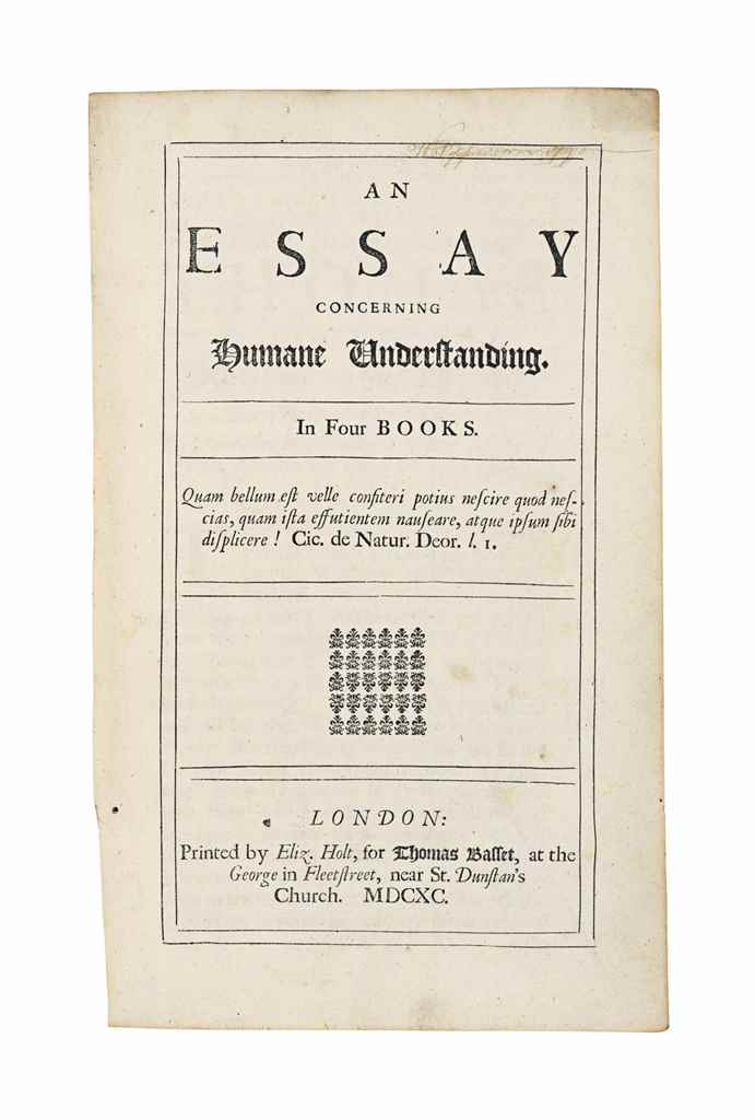 john locke an essay concerning human understanding audiobook Free download of an essay concerning human understanding by john locke available in pdf, epub and kindle read, write reviews and more.