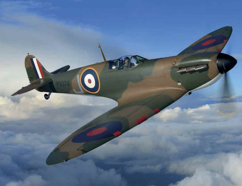 A VICKERS SUPERMARINE SPITFIRE