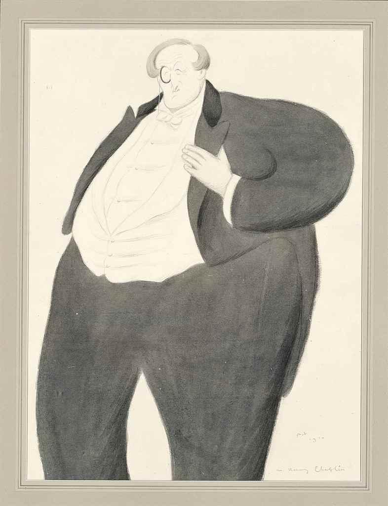 Sir Max Beerbohm (London 1872-
