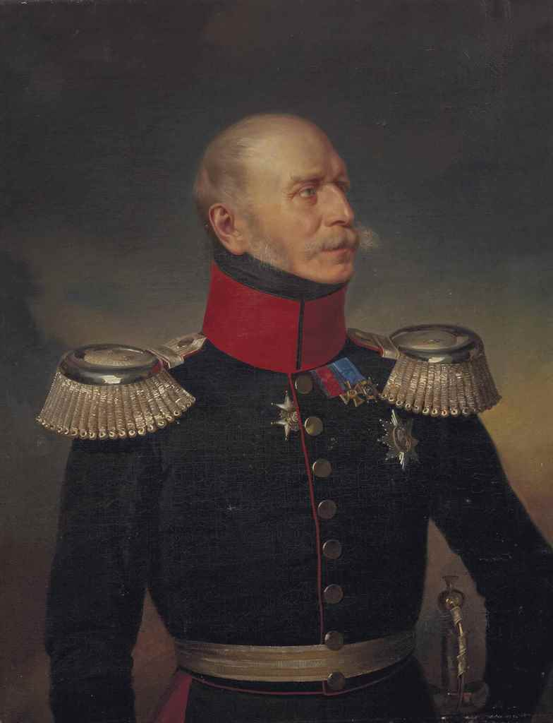 attribu anton von werner francfort 1843 1915 berlin portrait d 39 officier christie 39 s. Black Bedroom Furniture Sets. Home Design Ideas