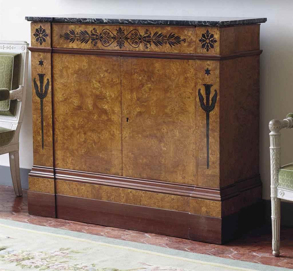 meuble a hauteur d appui royal d epoque restauration