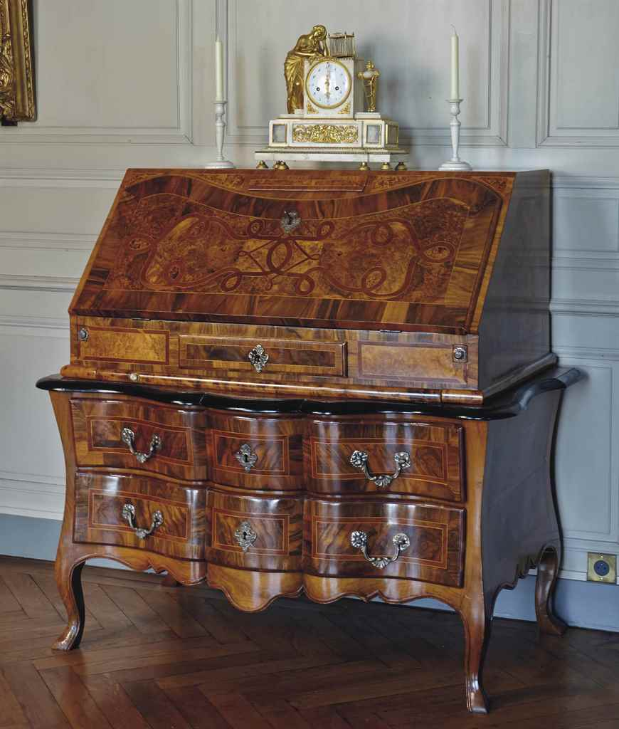 commode scriban d epoque baroque debut du xviiieme siecle allemagne christie 39 s. Black Bedroom Furniture Sets. Home Design Ideas