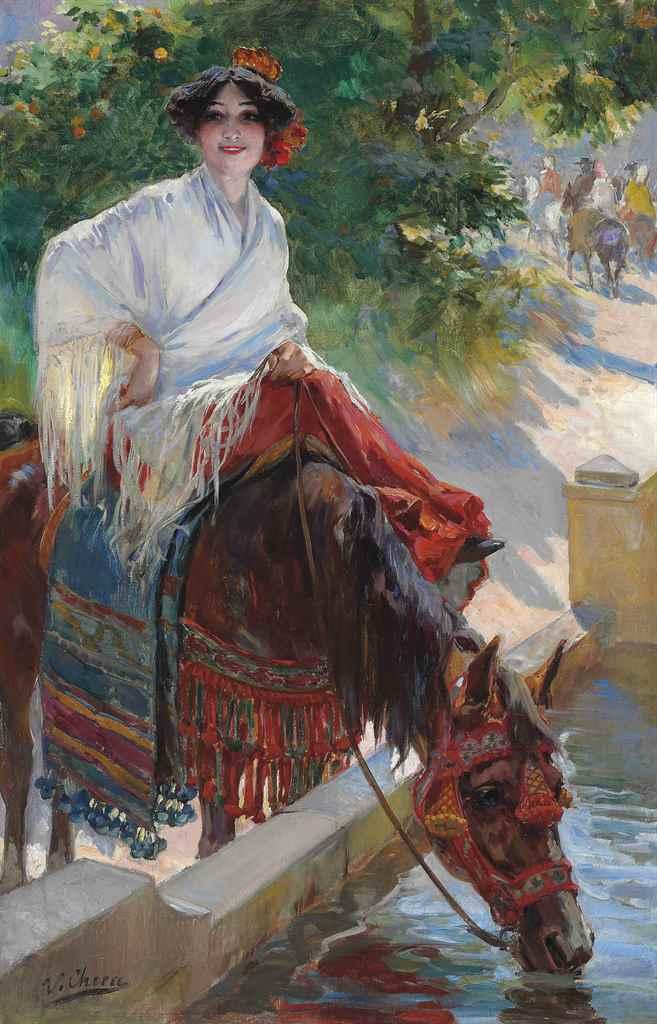 Ulpiano Checa y Sanz (Spanish,
