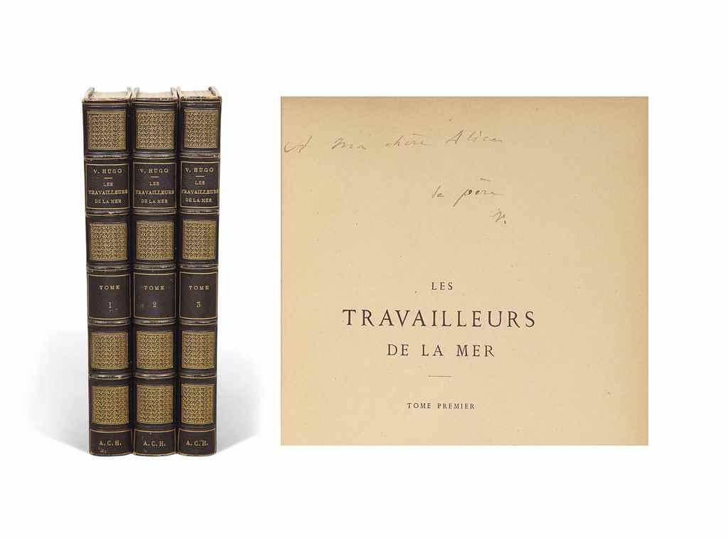 Victor HUGO (1802-1885) Les Travailleurs de la mer Paris: Li...