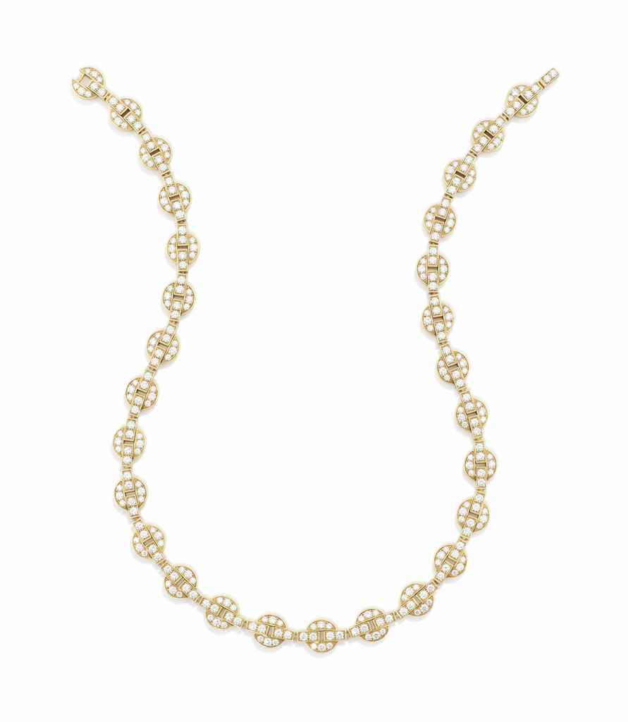 an 18 carat gold and necklace by cartier christie s