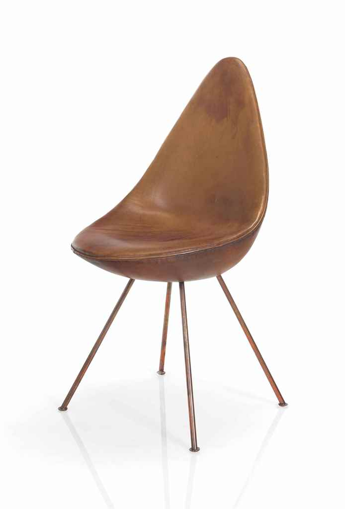 Arne jacobsen 1902 1971 a 39 drop 39 chair from the sas for Arne jacobsen drop chair