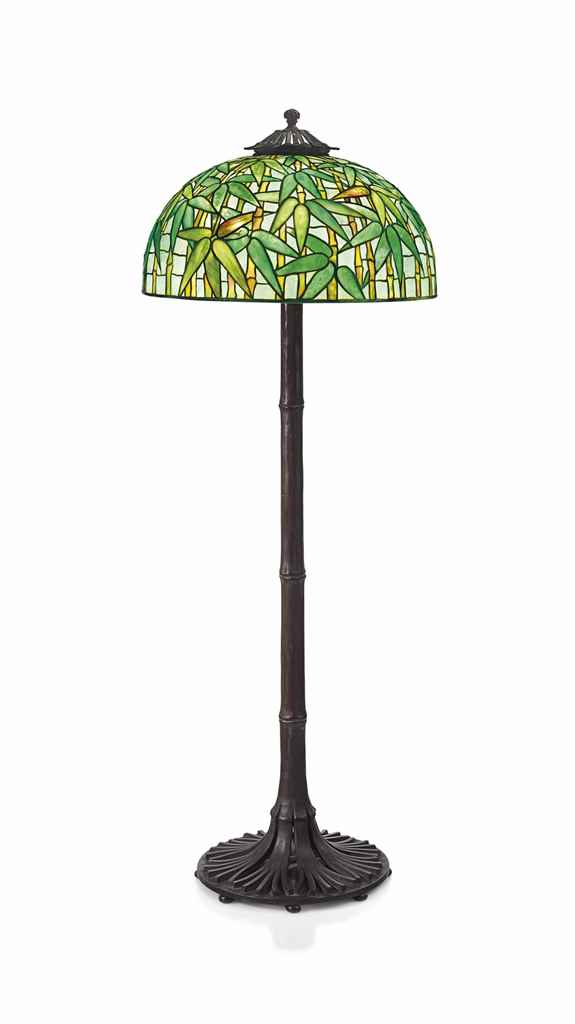 Tiffany studios a 39bamboo39 floor lamp circa 1910 for Tiffany bamboo floor lamp