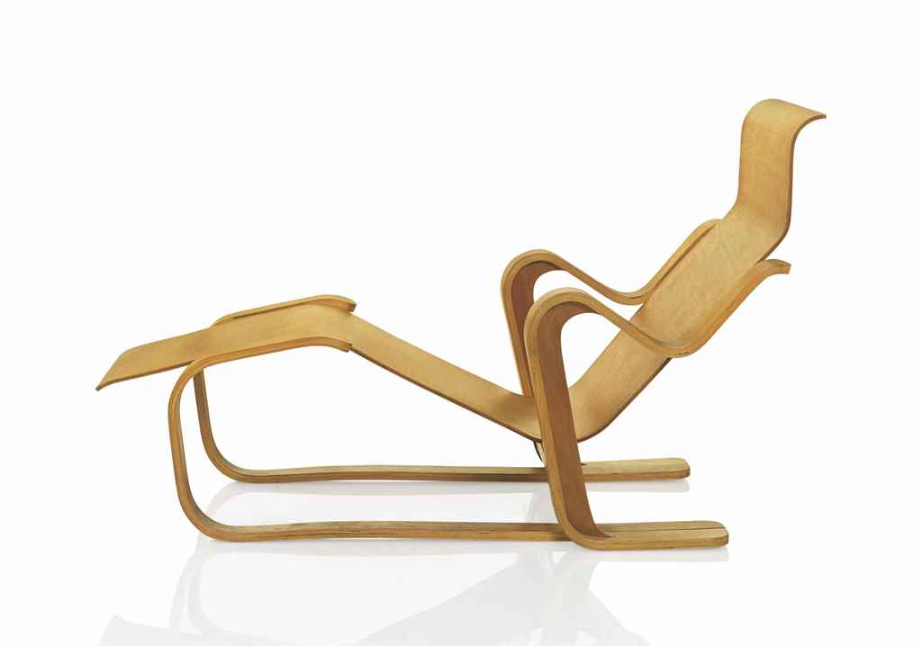 MARCEL BREUER (1902-1981) , A LONG CHAIR, DESIGNED 1936  Christie&...