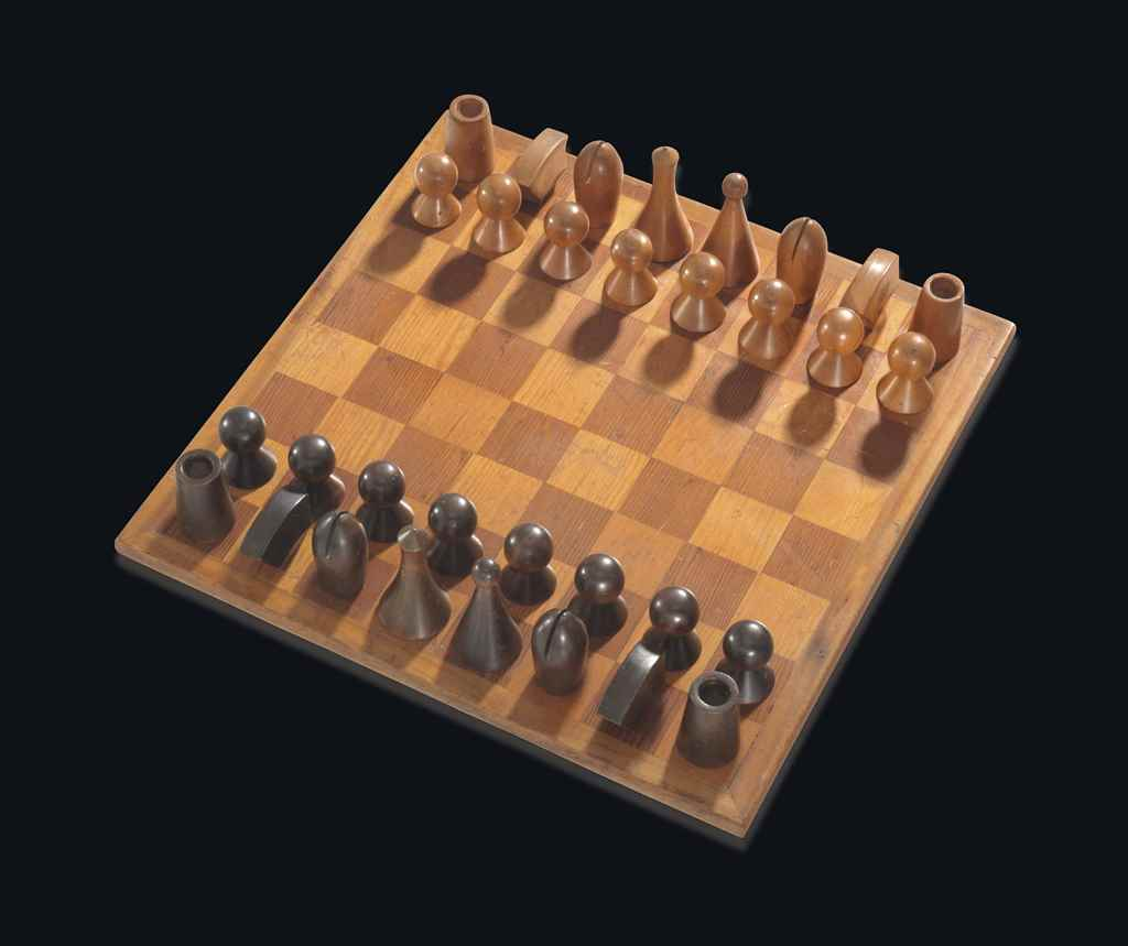 man ray ()  chess set  christie's - man ray ()