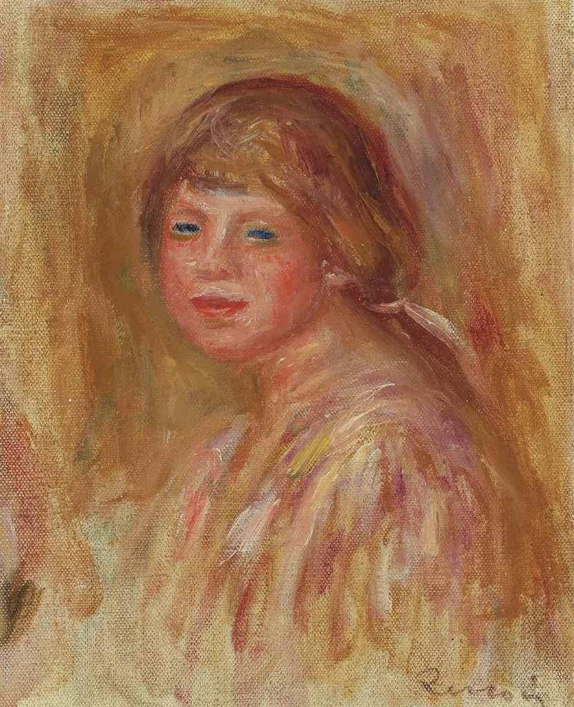 PierreAuguste Renoir (18411919) , Petit portrait de