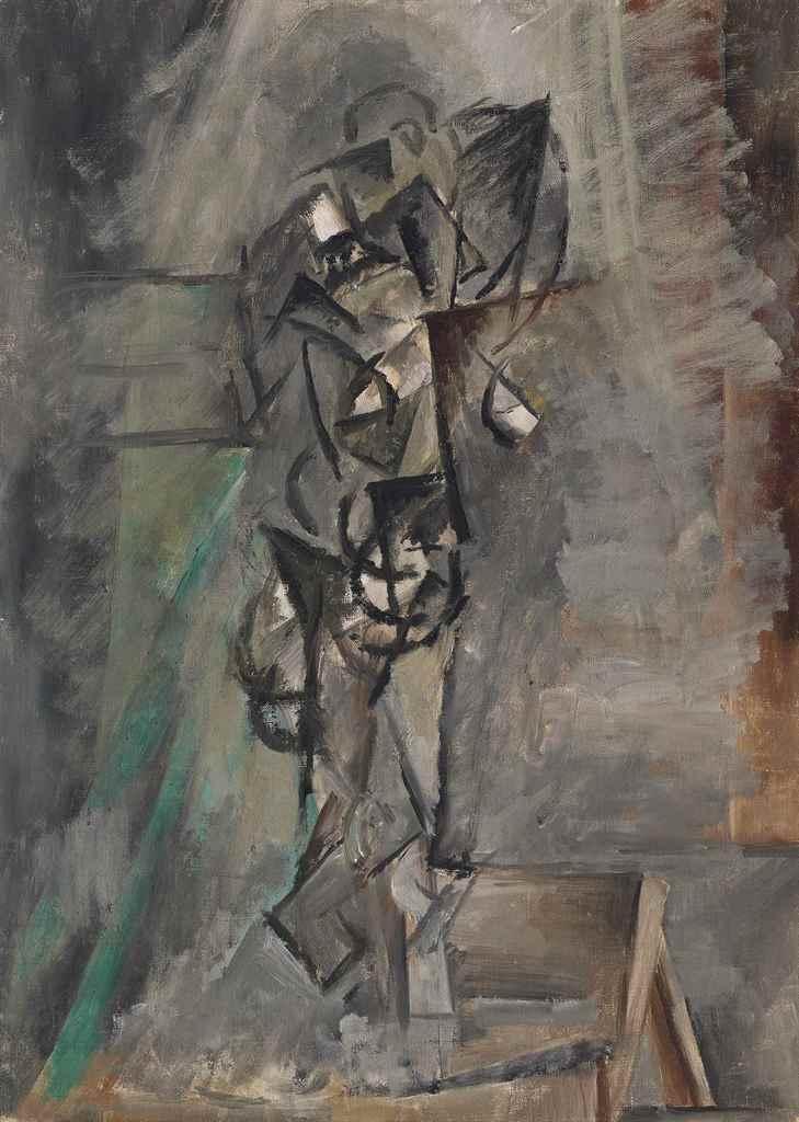 pablo picasso 1881 1973 femme nue debout christie s
