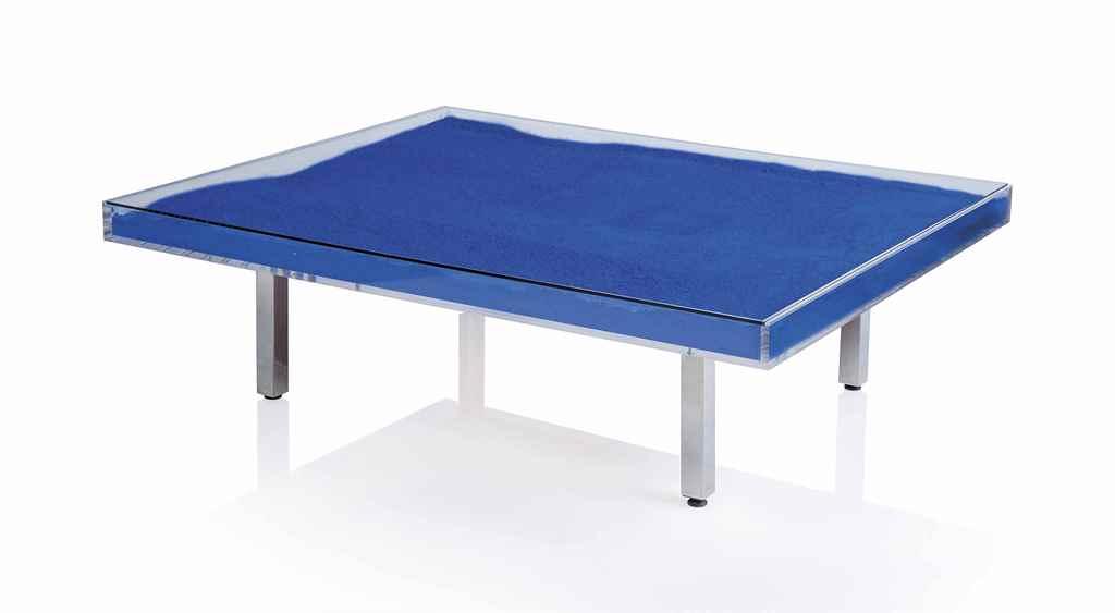 Yves Klein 1928 1962 Table Bleue Christie 39 S