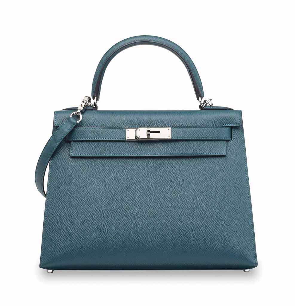 A BLEU COLVERT EPSOM LEATHER S