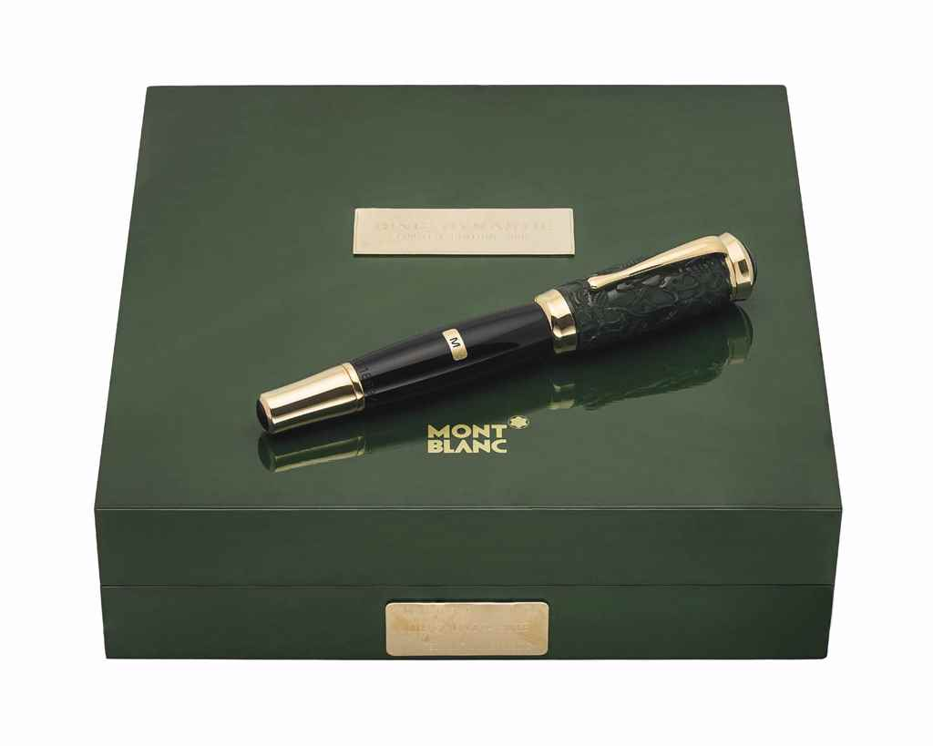 MONTBLANC. A JADE LIMITED EDIT