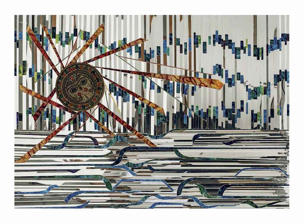 Monir Farmanfarmaian (Iranian,