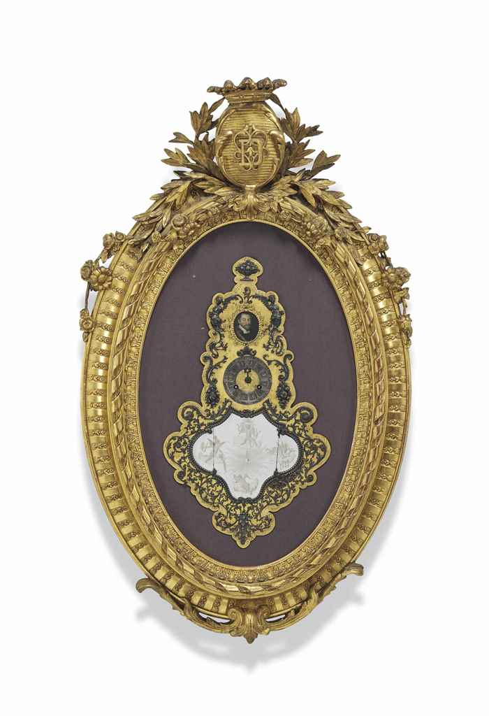 A NAPOLEON III GILTWOOD AND CO