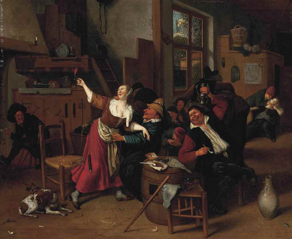 Manner of Jan Steen