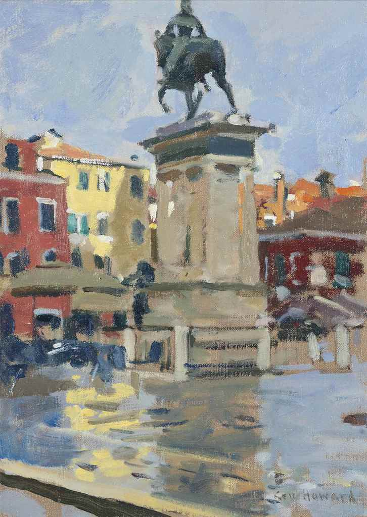 Ken Howard, R.A. (London b. 19