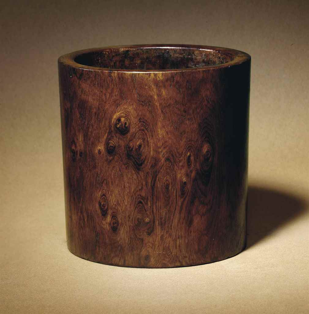 A HUANGHUALI BRUSH POT