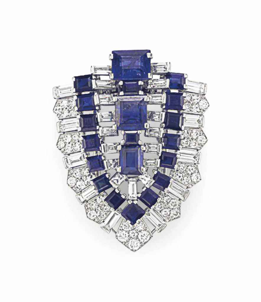 CARTIER. AN ART DECO DIAMOND A