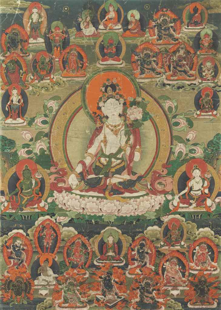 A Painting of White Tara
