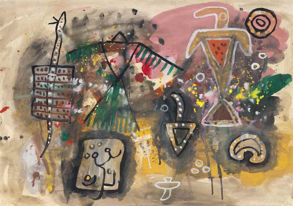 Alan Davie, R.A. (1920-2014)