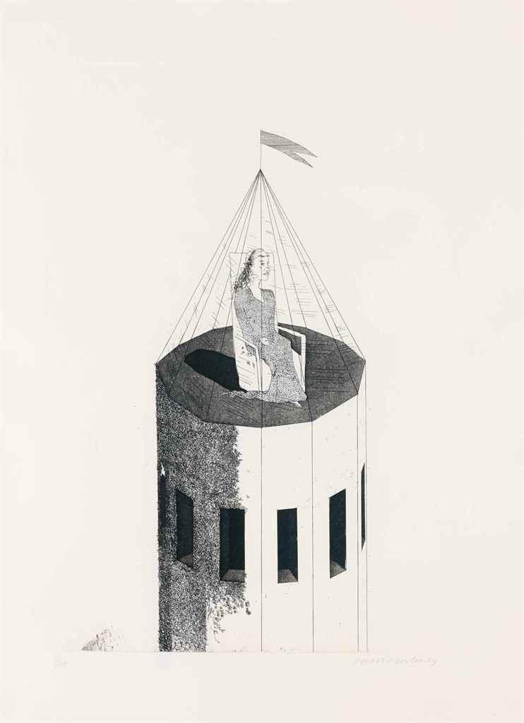 DAVID HOCKNEY (BRADFORD 1937)