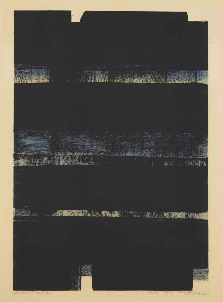 PIERRE SOULAGES (RODEZ 1919)